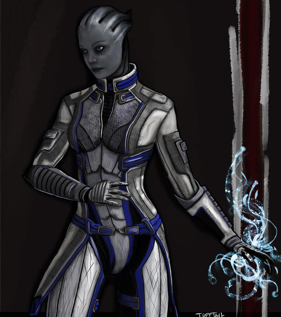 Liara T'Soni by TuftTail