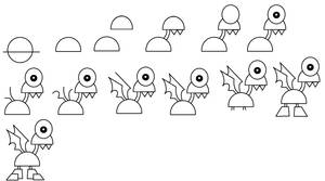 How to draw Phosphee