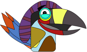 Dane the Toucan (Angry Birds May Ham)