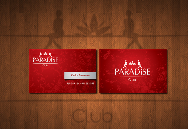 Paradise Club Business Card by PeterAxl on DeviantArt – Club Card Design