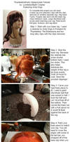 Uberponytail Cosplay Wig Tutorial