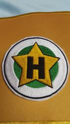 Herculopolis High School Patch Cosplay by lunaladyoflight
