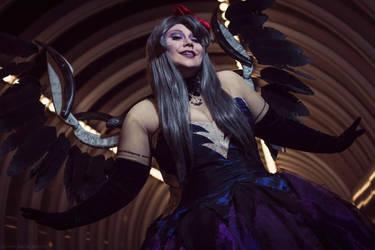 Black Angel by lunaladyoflight