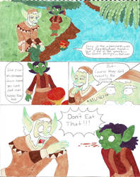 Oy and Eeddy enjoying nature (part 1) by MissIp