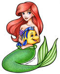 Ariel and Flounder revisited