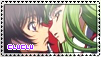 C.C. x Lelouch Stamp by Misoroll