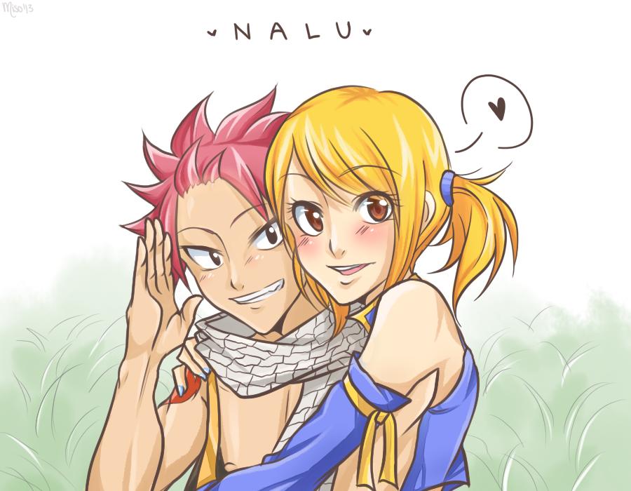 Natsu x Lucy by Misoroll on DeviantArt