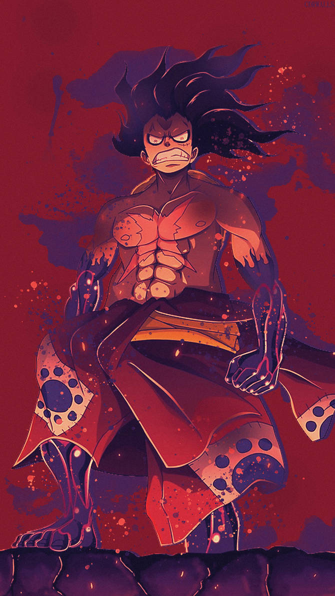 Luffy One Piece Phone Wallpaper By Cdrwalls On Deviantart