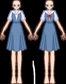 SSMU - NGE Seifuku Template