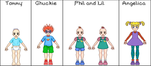 Rugrats - Set One by JamieMoon