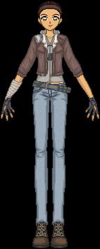Half-Life 2 - Alyx Vance by JamieMoon