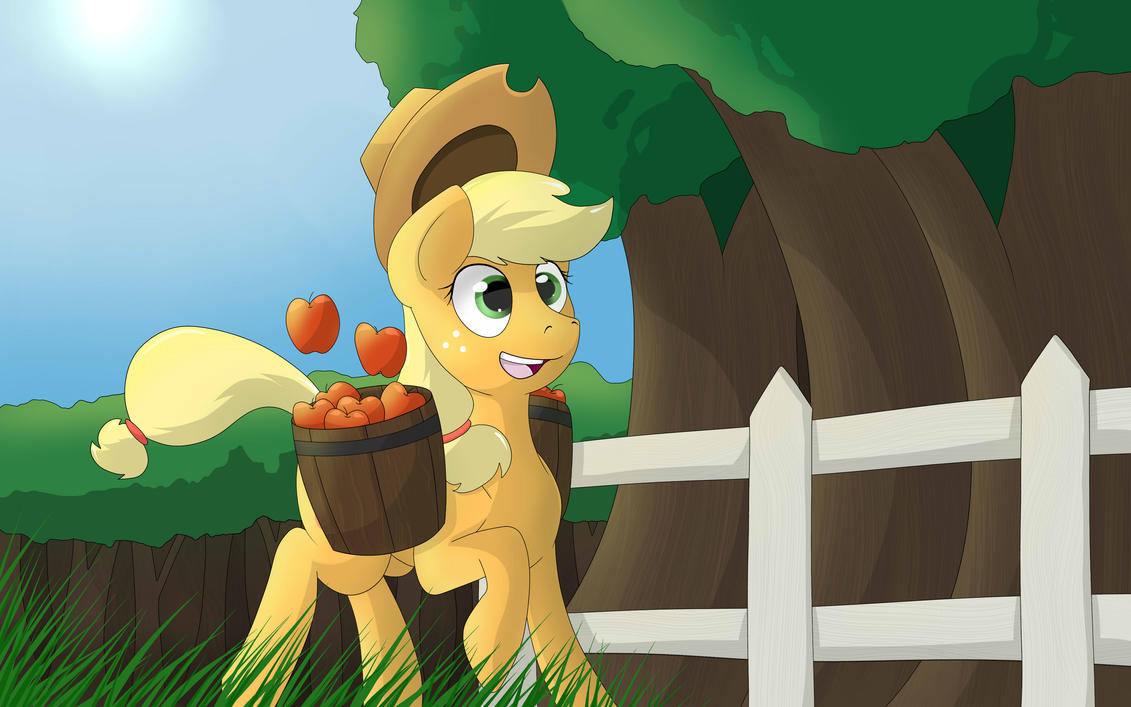 Apple Harvest by TheBatFang