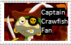 Captain Crawfish Stamp by 1313cookie
