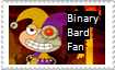 Binary Bard Stamp by 1313cookie