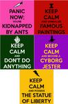 SVI Keep Calm Posters