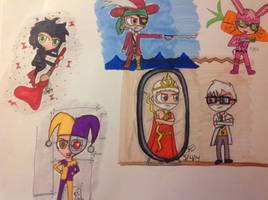 Le SVI chibis... Because. by 1313cookie