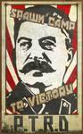 Soviet Union Heroes and Generals Propaganda Poster
