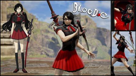Soul Calibur Six Create a Soul Saya Blood-C by Edd000
