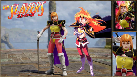 Lina Inverse Slayers Soul Calibur 6 by Edd000