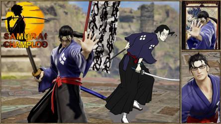 Jin from Samurai Champloo by Edd000