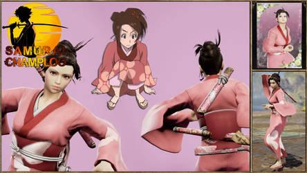 Fuu from Samurai Champloo by Edd000