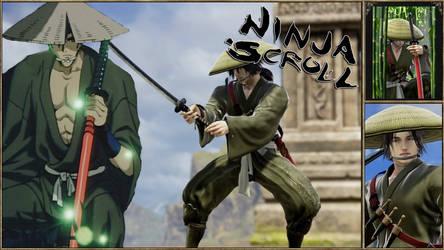Jubei from Ninja Scroll by Edd000