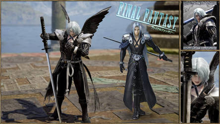Sephiroth FF7 Soul Calibur 6 by Edd000