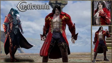 Dracula(Gabriel) Lords of Shadow 2 Soul Calibur 6