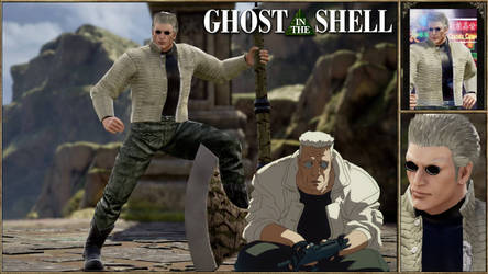 Soul Calibur 6 CAS Batou From Ghost in The Shell.