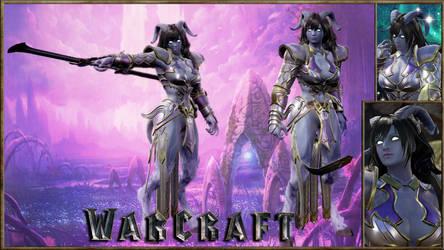 Warcraft Draenei Paladin Female!