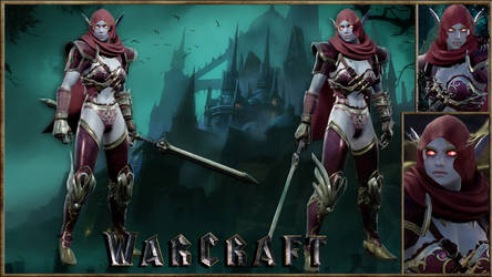 Warcraft Sylvanas Windrunner - SC6
