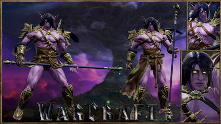 Warcraft Teldrassil Night Elf Druid