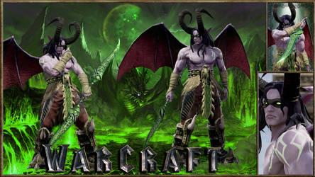 Warcraft(WoW) Illidan The Betrayer! :O