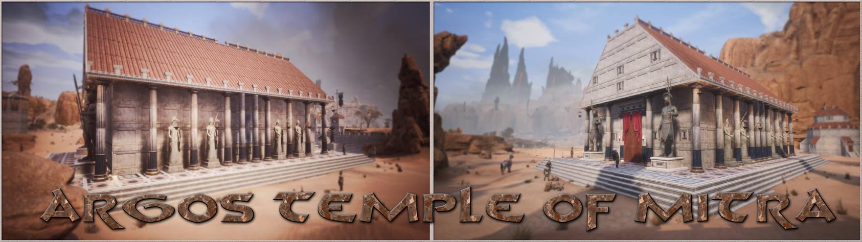 Outside the Temple of Argos - Conan Exiles