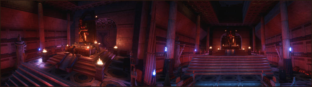 Inside the Temple of Argos!