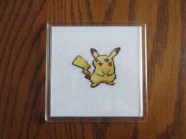#025 Pikachu by luna-notte