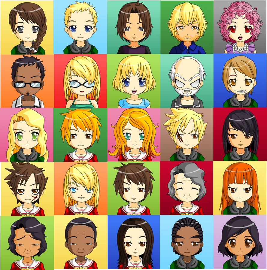 The Hunger Games Characters by DiFab0220 on DeviantArt