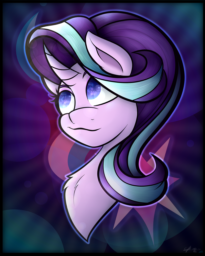 MLP Bust Print - Starlight 2.0 by CosmicChrissy