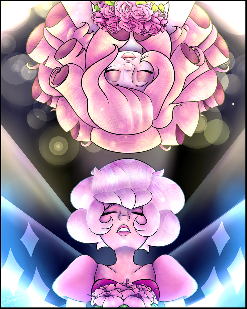 From Pink to Rose, From Rose to Pink by CosmicChrissy