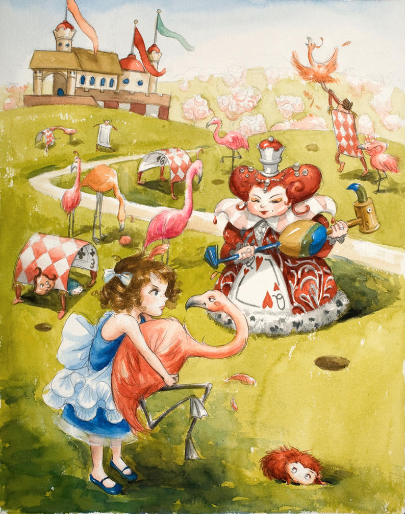 Croquet With The Queen By Polkapills On DeviantArt