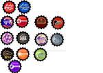 Fallout Bottlecap Charm Designs