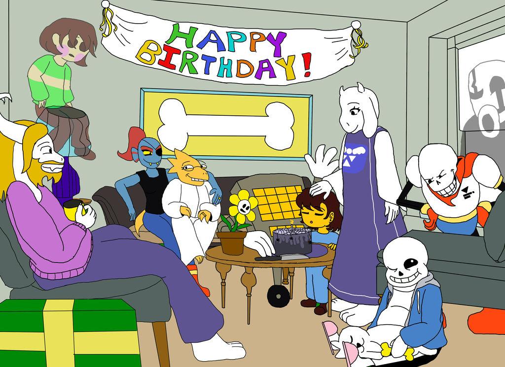 Happy 2nd Anniversary Undertale