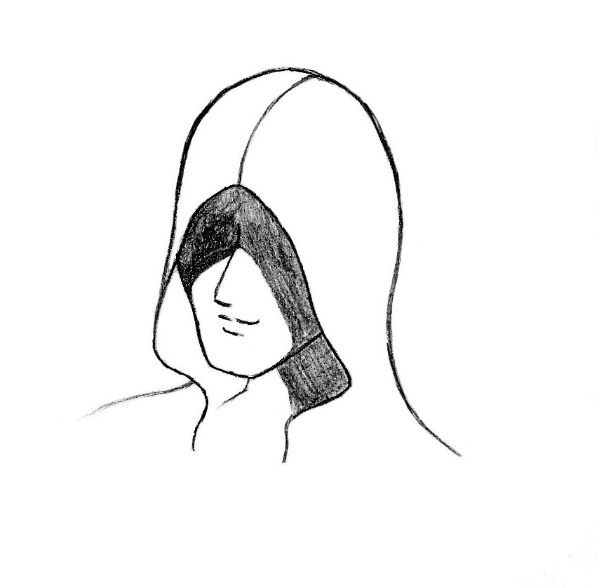 Angled Sketch Hooded Figure By AssassinOfPeace On DeviantArt