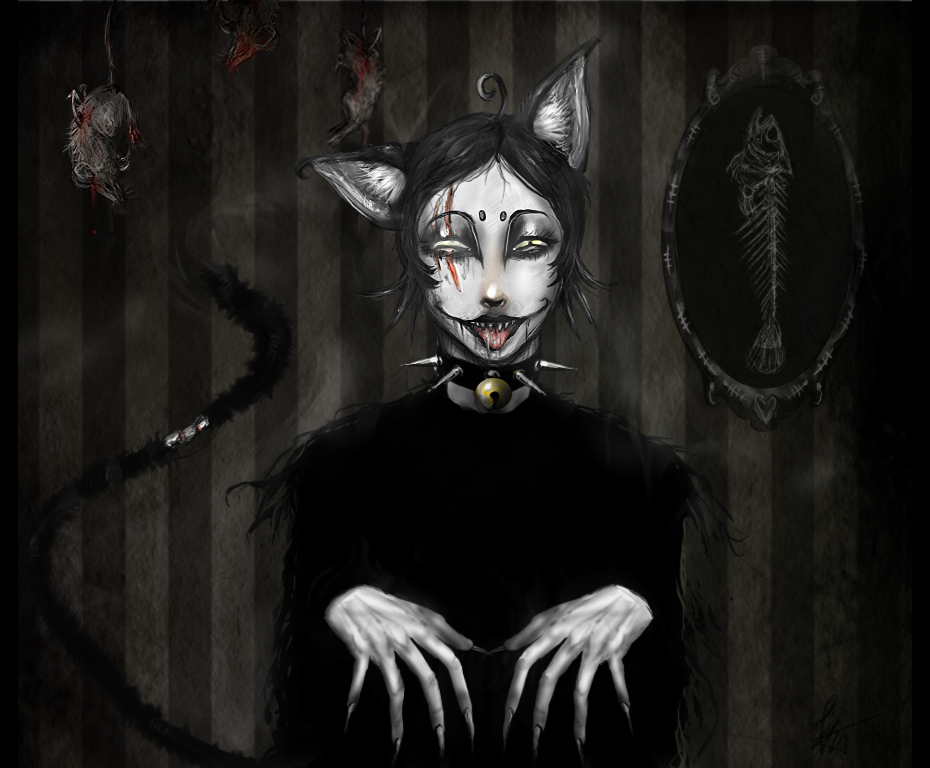 Black Cat Anim Ef Bf Bd Wallpaper