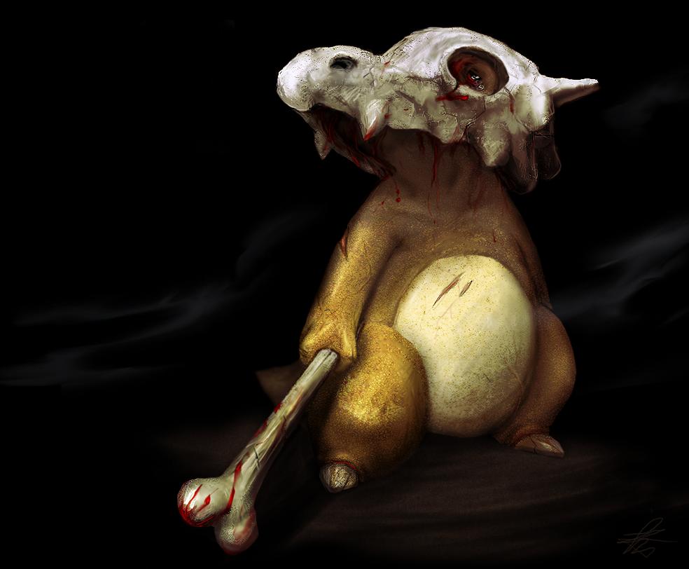 Cubone by Snook-8