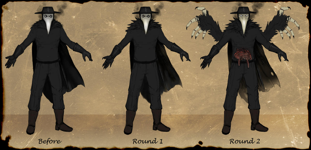 Plague Doctor Forms Reference By Snook 8 On Deviantart