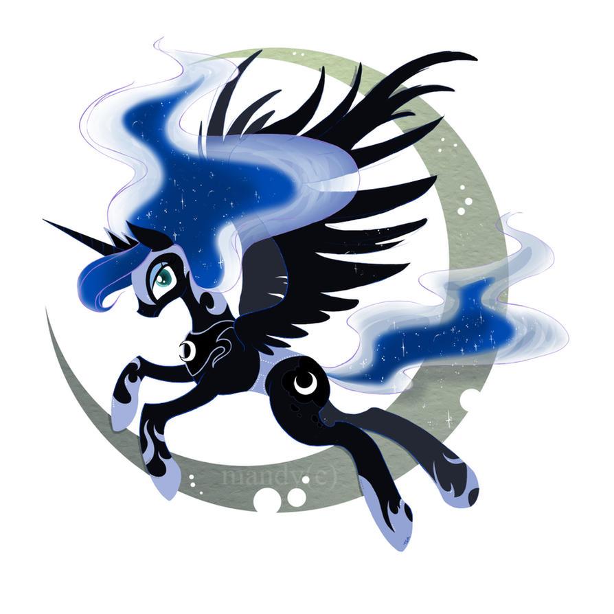 Luna Pony by Manden