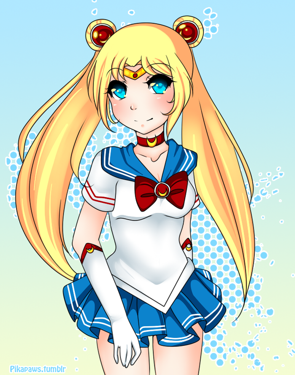 Sailor Moon by Pikapaws