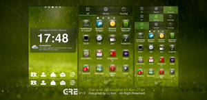 Vivid Green Theme for Android