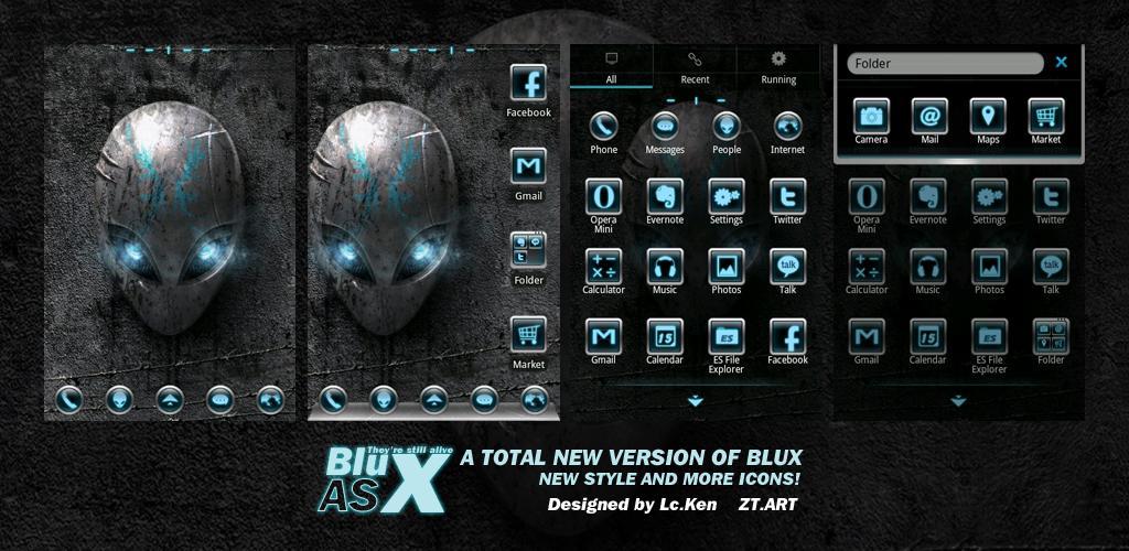 Blux AS Alien Theme by ztart-theme on DeviantArt